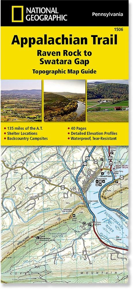 National Geographic Appalachian Trail: Raven Rock to Swatara Gap