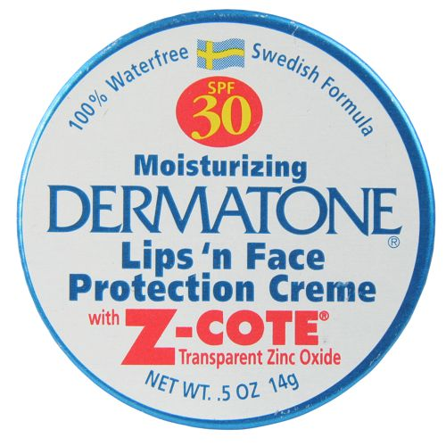 photo: Dermatone SPF 30 Zinc Oxide Mini Tin sunscreen