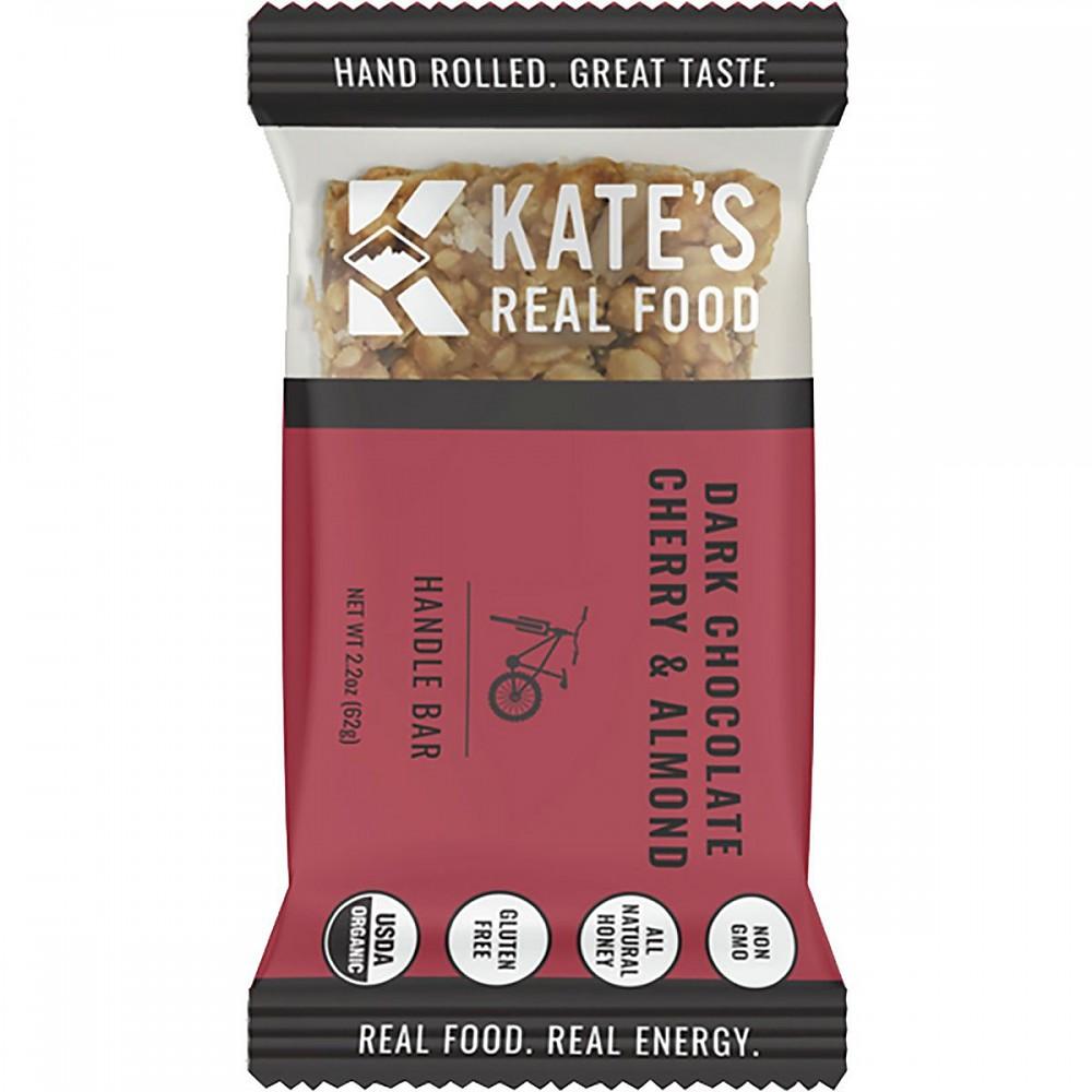 photo: Kate's Real Food Dark Chocolate Cherry & Almond Handle Bar nutrition bar