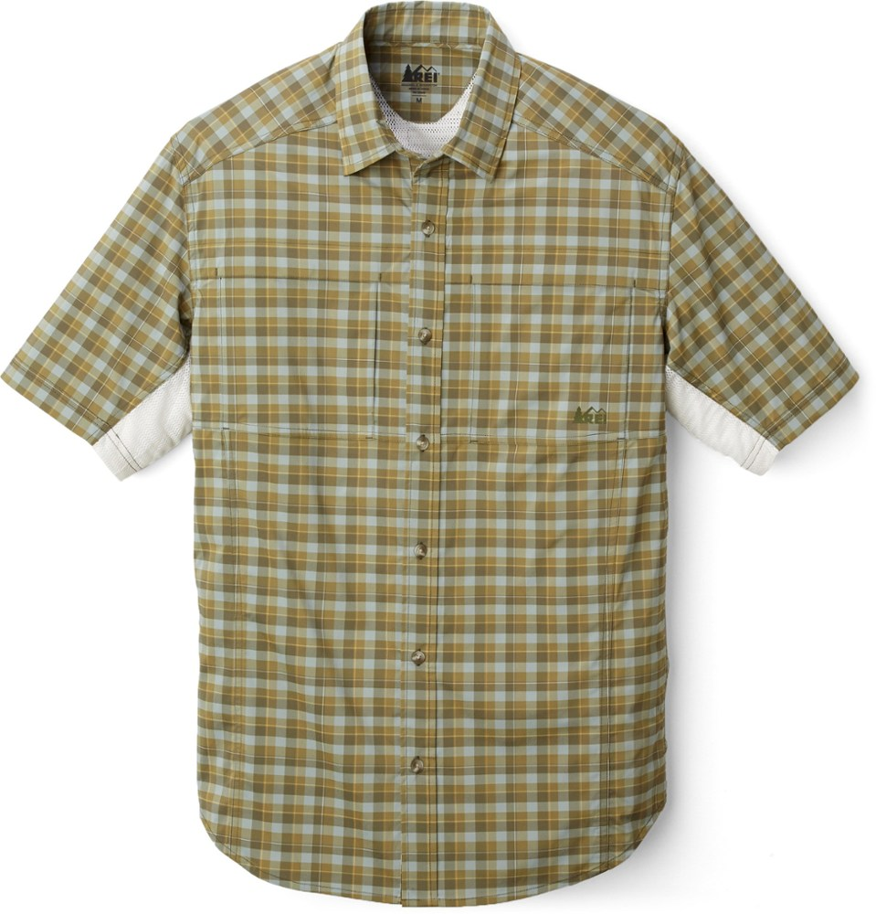 photo: REI Sahara Tech Shirt hiking shirt