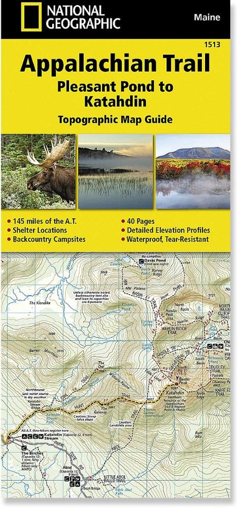 National Geographic Appalachian Trail: Pleasant Pond to Katahdin