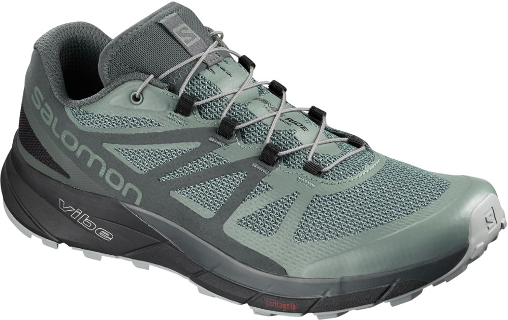 photo: Salomon Sense Ride GTX Invisible Fit trail running shoe