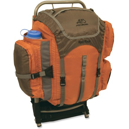 photo: ALPS Mountaineering Red Rock external frame backpack