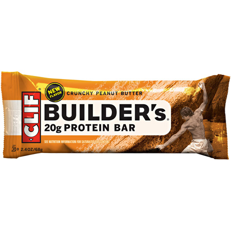 photo: Clif Builder's Crunchy Peanut Butter Bar nutrition bar
