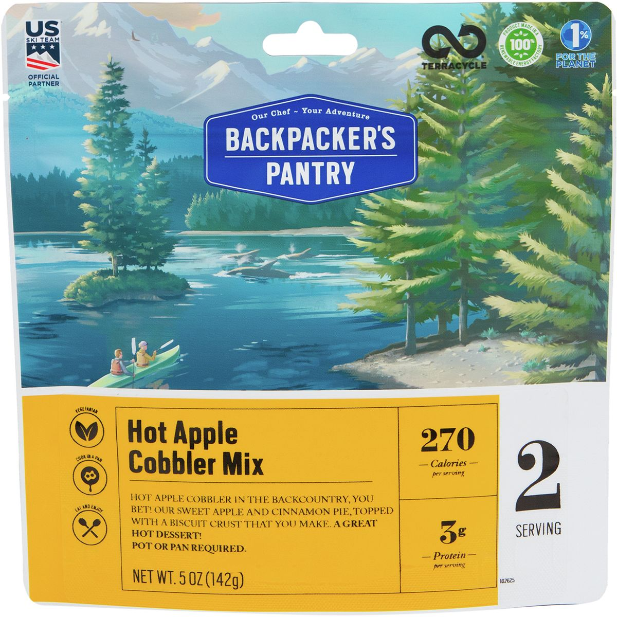 Backpacker's Pantry Hot Apple Cobbler