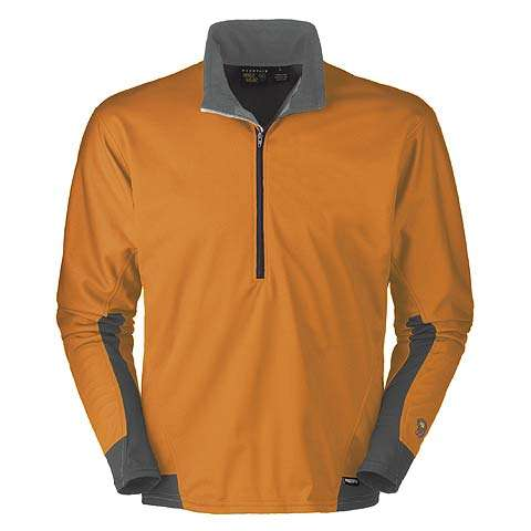 photo: Mountain Hardwear Men's Transition Featherweight Zip T long sleeve performance top