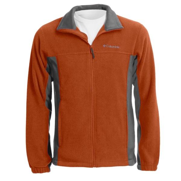 photo: Columbia Vertical Drop Jacket fleece jacket