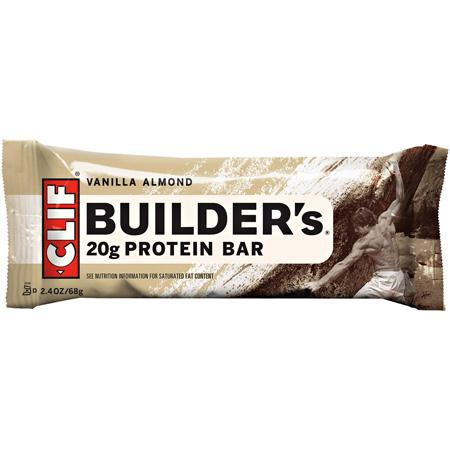 photo: Clif Builder's Vanilla Almond Bar bar