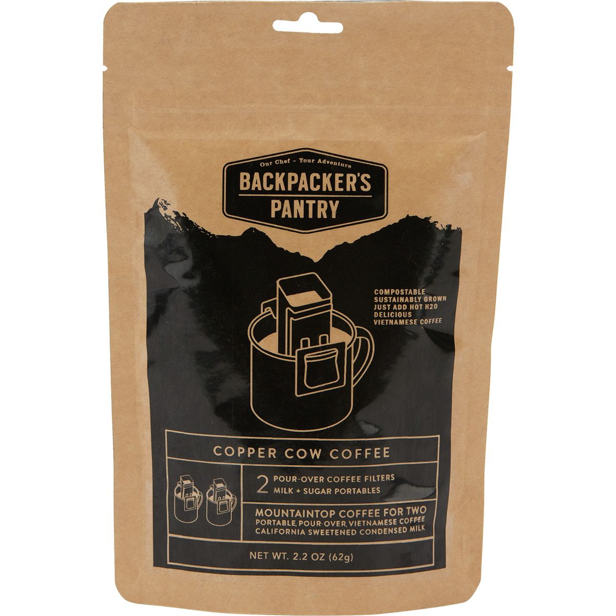 photo: Backpacker's Pantry Copper Cow Vietnamese Coffee coffee