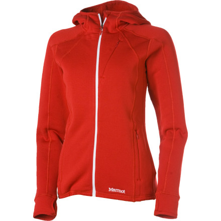 photo: Marmot Arosa Hoody fleece jacket