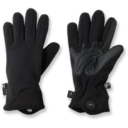 REI Fleece Grip Gloves