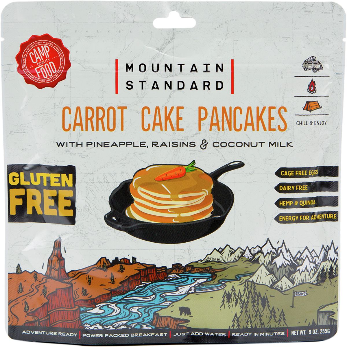 Backpacker's Pantry Mountain Standard Carrot Cake Pancakes
