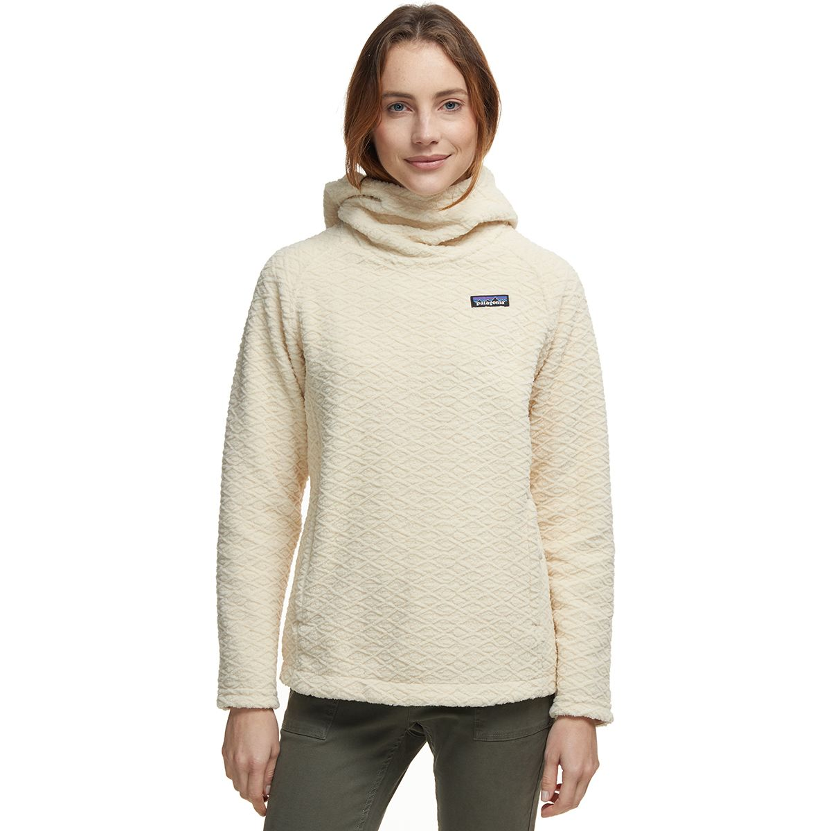 photo: Patagonia Diamond Capra Hoody fleece top