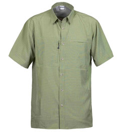 White Sierra Salt Point Short Sleeve Shirt