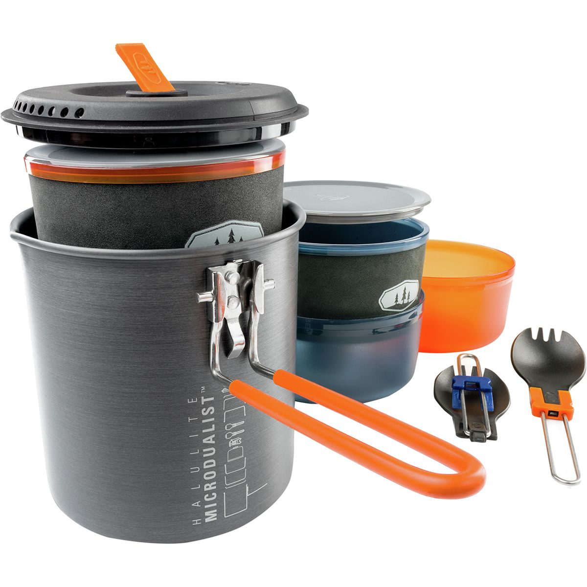 photo: GSI Outdoors Halulite Microdualist II pot/pan