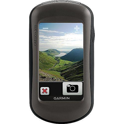 photo: Garmin Oregon 550 handheld gps receiver