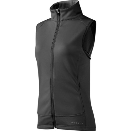photo: GoLite Men's Black Mountain Thermal Wind Vest wind shell vest