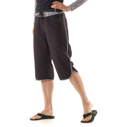 Mooloolaba Scallop Capri Paddling Pants
