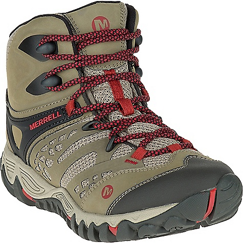 photo: Merrell Women's All Out Blaze Ventilator Mid Waterproof hiking boot