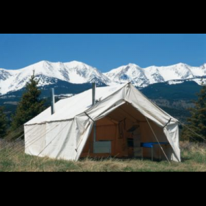 Cabela's Outfitter Cook Shack Wall Tents by Montana Canvas