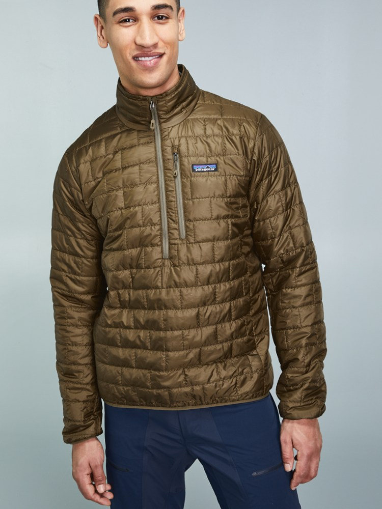 photo: Patagonia Men's Nano Puff Pullover synthetic insulated jacket