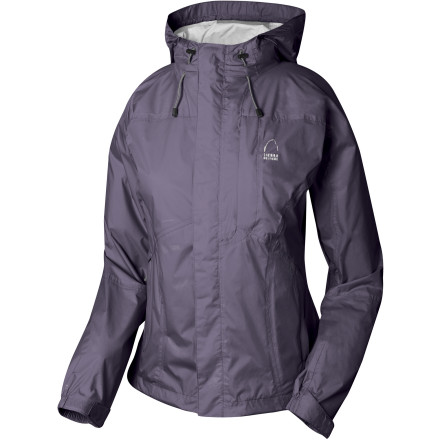 photo: Sierra Designs Women's Hurricane HP Jacket waterproof jacket