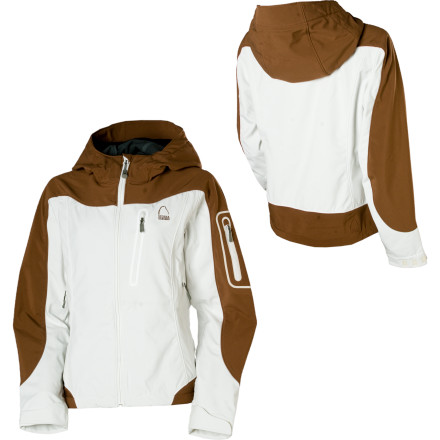 photo: Sierra Designs Women's Lunatic Hoody soft shell jacket