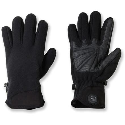 photo: REI Fleece Grip Gloves fleece glove/mitten