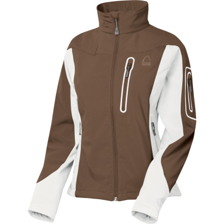 photo: Sierra Designs Women's Lunatic Jacket soft shell jacket