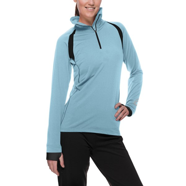 photo: SportHill Glacier Zip Top long sleeve performance top