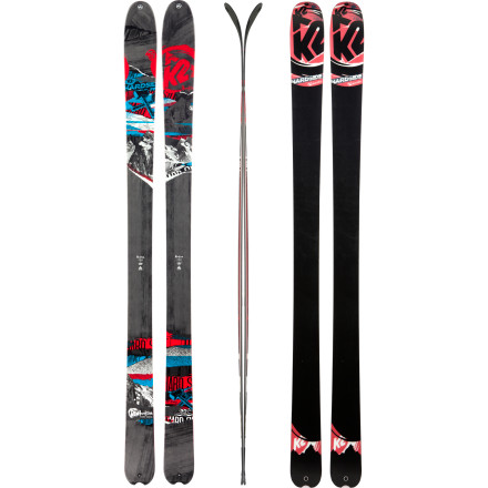 photo: K2 HardSide alpine touring/telemark ski