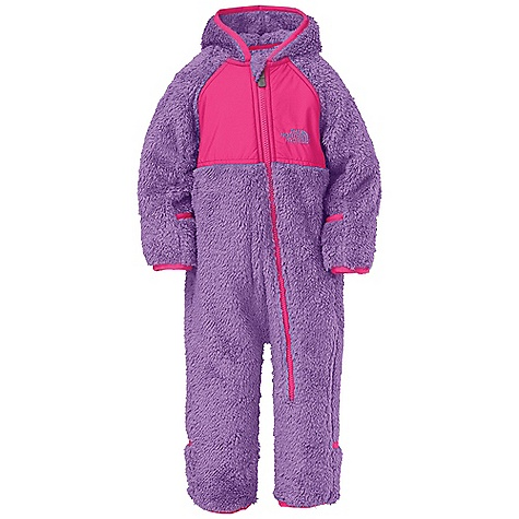 photo: The North Face Plushee Fleece Bunting kids' snowsuit/bunting