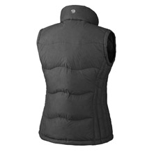 photo: Mountain Hardwear Women's LoDown Vest down insulated vest
