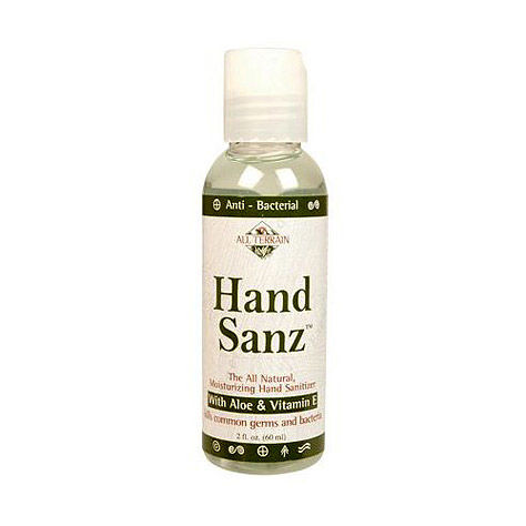 photo: All Terrain Hand Sanz Natural Sanitizer soap/cleanser