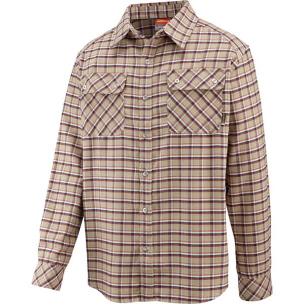 photo: Merrell Burlington II Opti-Wick Flannel Shirt hiking shirt