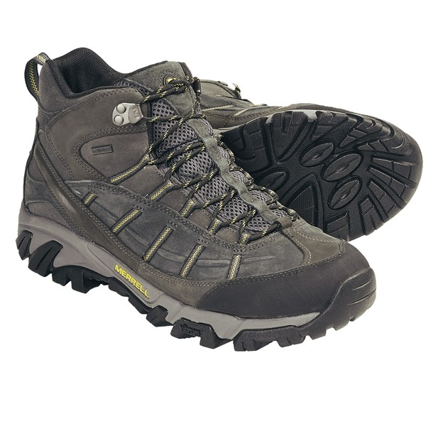 photo: Merrell Geomorph Blaze Mid Waterproof hiking boot