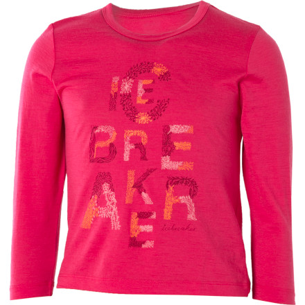 photo: Icebreaker Superfine 150 Bella T Garden long sleeve performance top