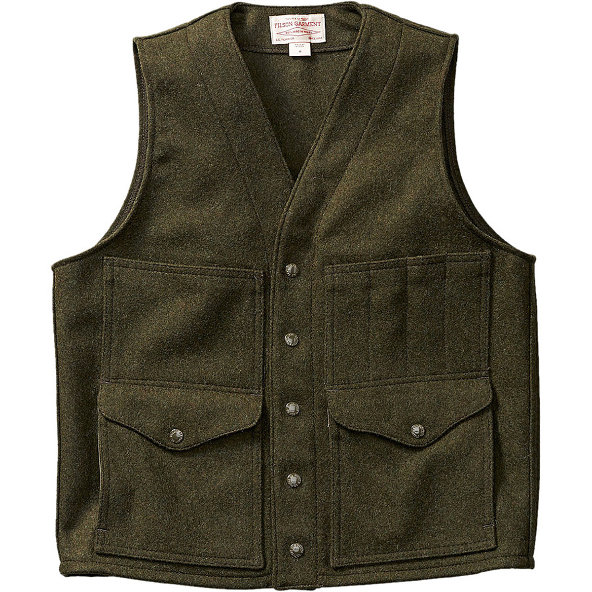 Filson Cruiser Mackinaw Wool Vest