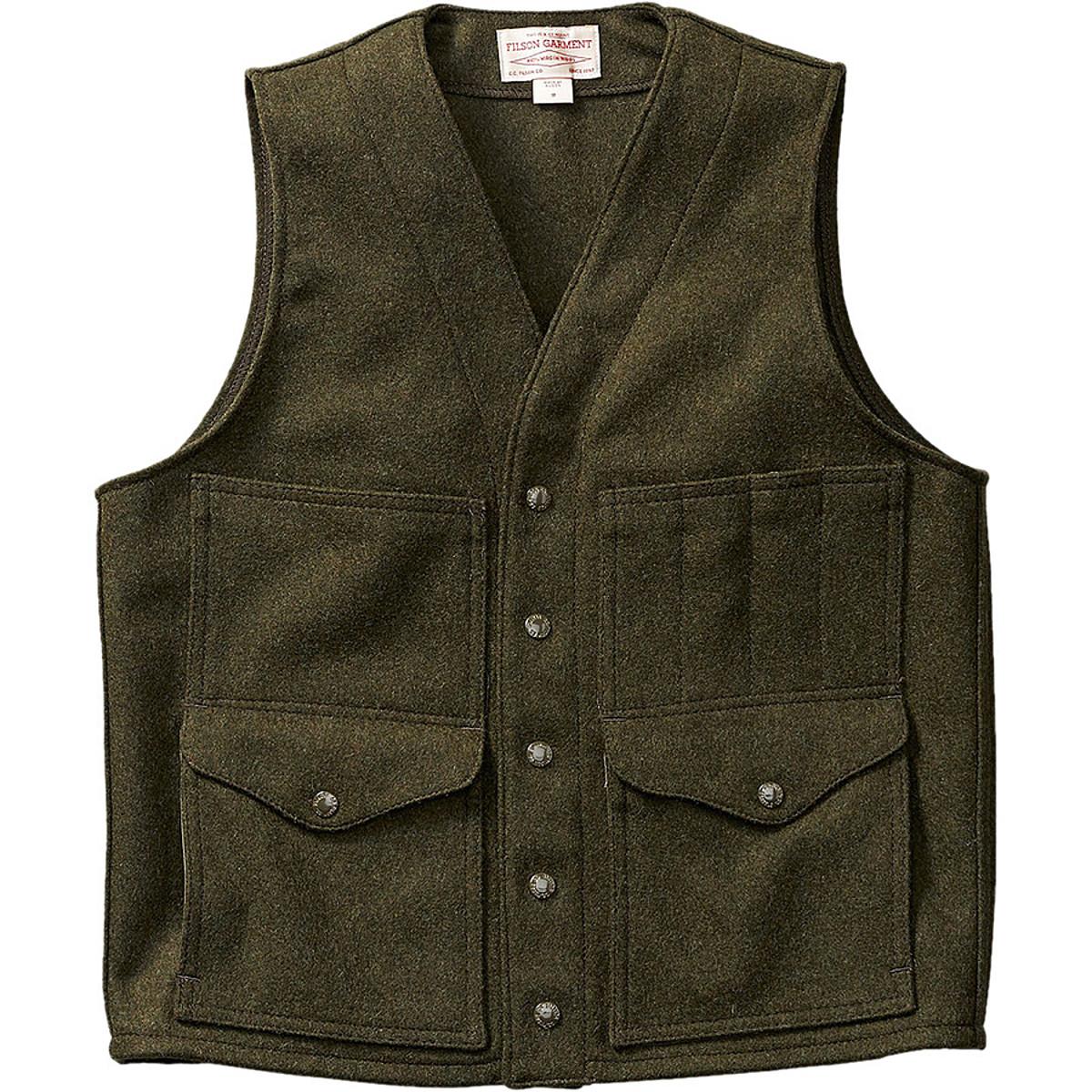 Filson Cruiser Mackinaw Wool Vest