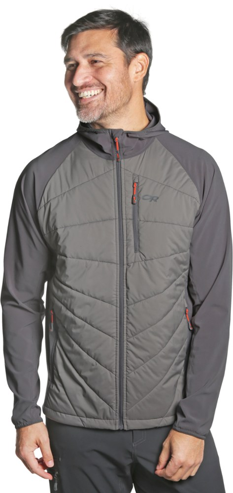 photo: Outdoor Research Refuge Hybrid Hooded Jacket synthetic insulated jacket