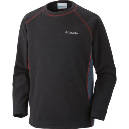 photo: Columbia Glacial Fleece Crew fleece top