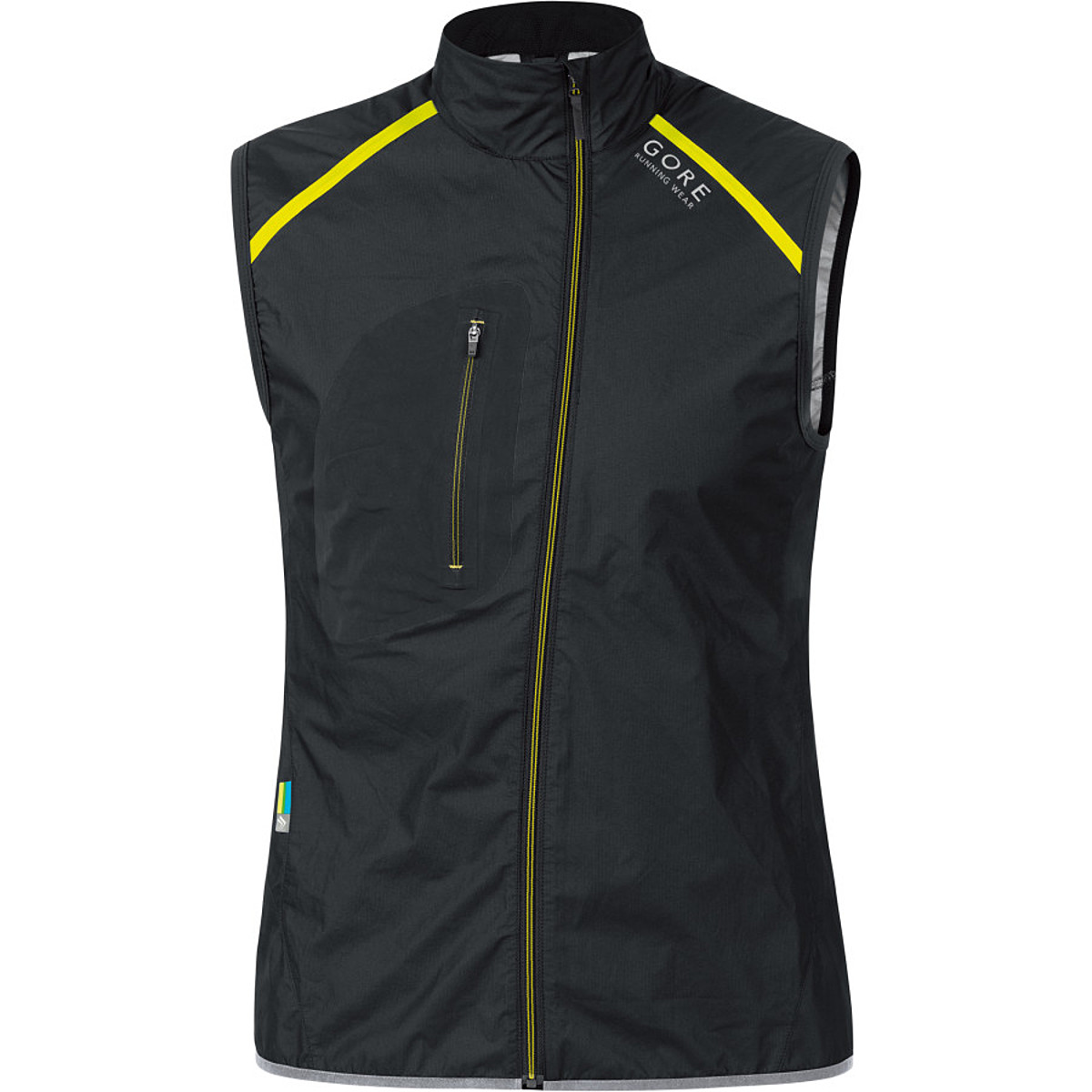 photo: Gore X-Run Ultra Windstopper Active Shell Light Vest wind shell vest