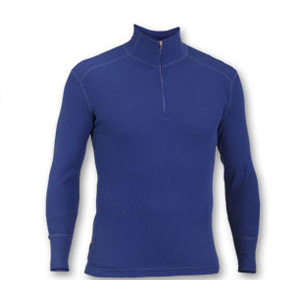 photo: Ibex Men's Woolies Zip T-Neck base layer top
