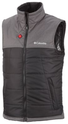 photo: Columbia Men's Electro Amp Core Vest synthetic insulated vest