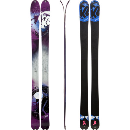 photo: K2 BrightSide alpine touring/telemark ski