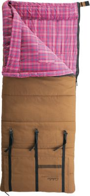 photo: Cabela's Women's Mountain Trapper 0F Sleeping Bag 3-season synthetic sleeping bag