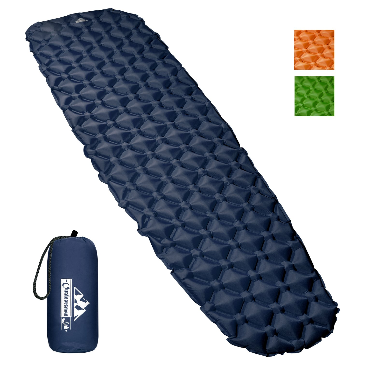 photo: OutdoorsmanLab Ultralight Inflatable Pad air-filled sleeping pad