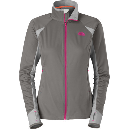 photo: The North Face Women's Alpine Hybrid Full Zip long sleeve performance top
