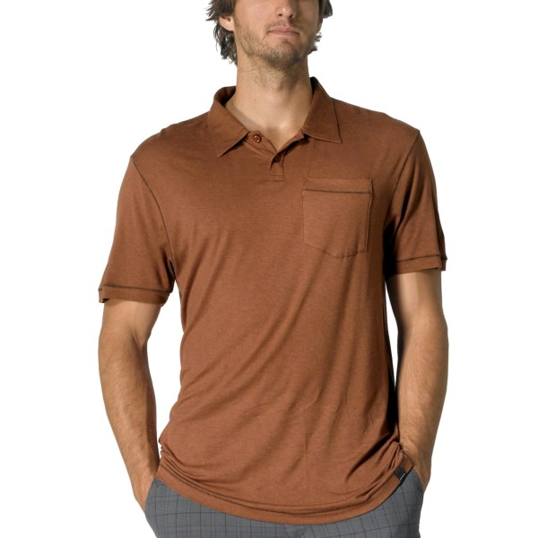 prAna Crosshatch Polo