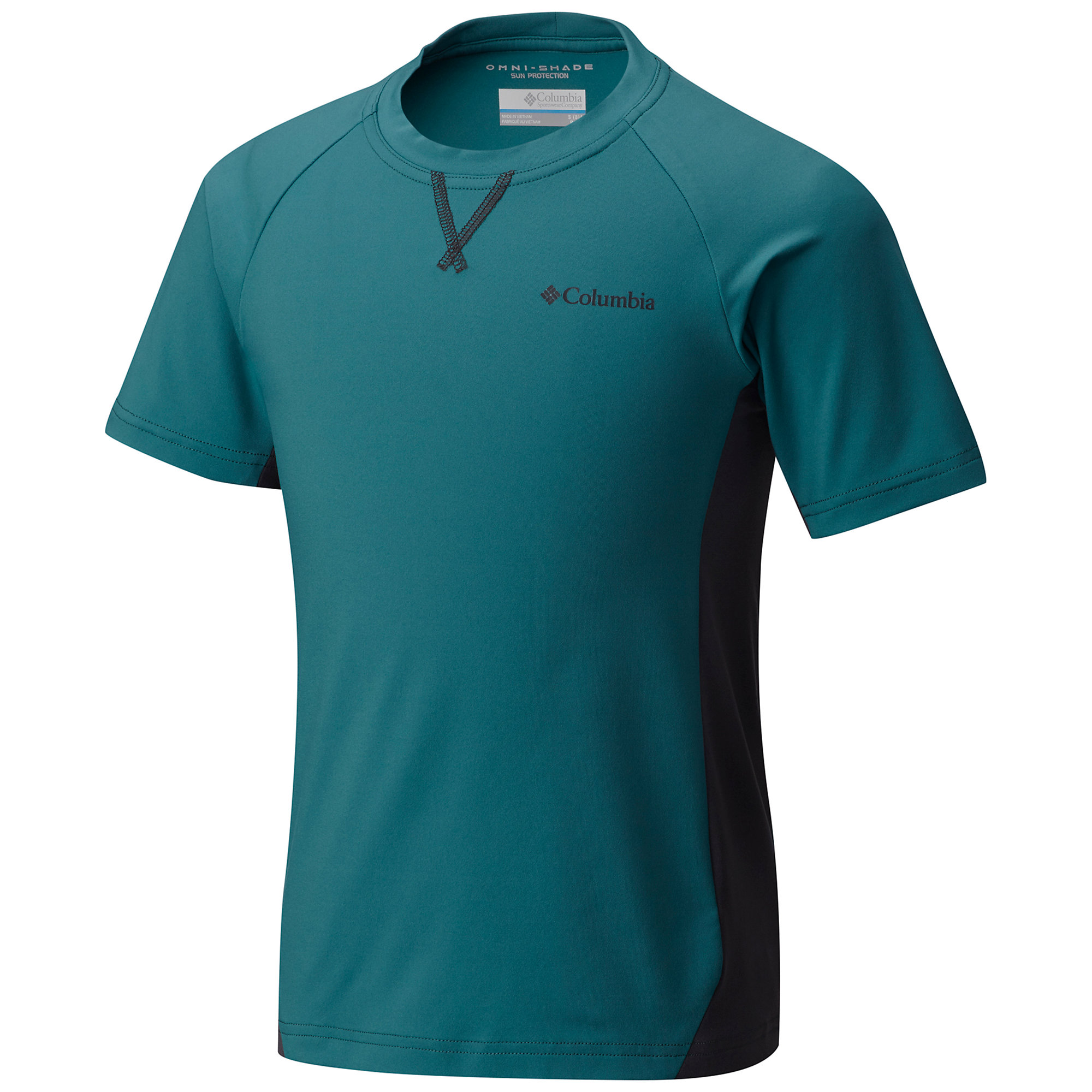 photo: Columbia Boys' Silver Ridge Tee short sleeve performance top